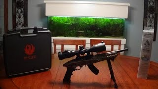 getlinkyoutube.com-Ruger Charger Takedown w/ UTG 2-7x44 Scout Scope