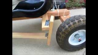 getlinkyoutube.com-DIY Go Kart Powered by Drill Motor Detail