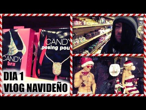 Vlog Navideño Dia 1 ❄ Chocolates con Licor   Bubis y Penes de Gomita