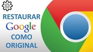 getlinkyoutube.com-Restaurar Google Chrome a su estado Original