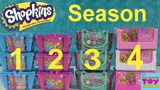 getlinkyoutube.com-Shopkins Season 1 2 3 4 Blind Basket Opening | Toy Review Palooza | PSToyReviews