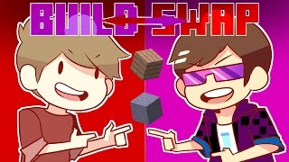 Minecraft BUILD SWAP - New Guest!