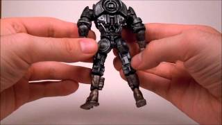 "getlinkyoutube.com-Jakks Pacific Real Steel Atom Vs. Zeus 4"" 2-Pack Review"