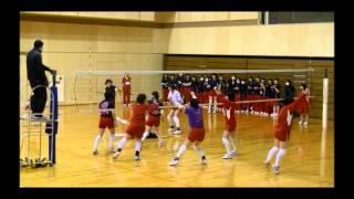 getlinkyoutube.com-熊本信愛女学院 たぶん、日本一レベルの高いクラスマッチ一回戦 Part1