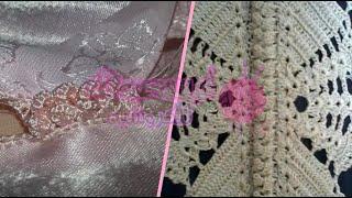 getlinkyoutube.com-ملاقية هائلة على شكل عقاد بالكروشي في اللباس المغربي | Crochet Marocain
