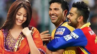 getlinkyoutube.com-Yuvraj Singh CALLS Virat Kohli's girlfriend Anushka Sharma 'Bhabhi'