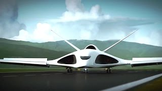 getlinkyoutube.com-Russia's Pak Ta Supersonic Heavy Transportation Aircraft Simulation [720p]