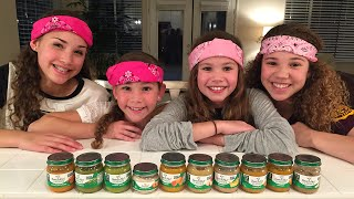 getlinkyoutube.com-The Baby Food Challenge (Haschak Sisters)
