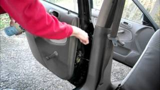 How To Fix Car Door Hinge Squeak/Creak