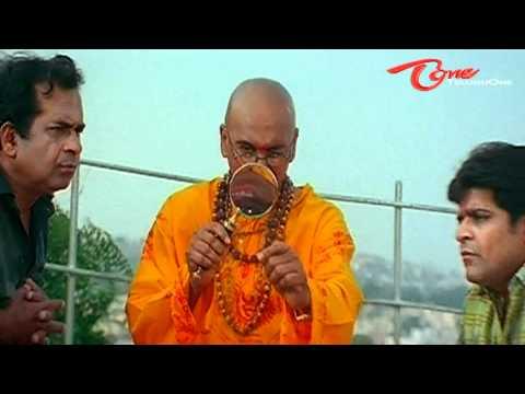 Brahmanandam & Ali's Jyothishyam Scene - Telugu Comedy
