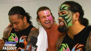 getlinkyoutube.com-Ziggler channels Uso Crazy: SmackDown Fallout, January 21, 2016
