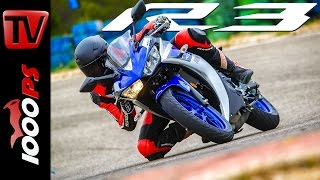 getlinkyoutube.com-Yamaha YZF-R3 Test 2015 | Action, Onboard, Fazit