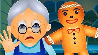 getlinkyoutube.com-The Gingerbread Man Story | Fairy Tales for Children | By TinyDreams Kids