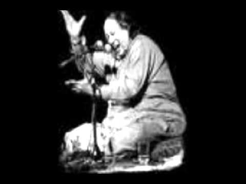 NUSRAT FATEH ALI KHAN -TAIRAY LARYAAN NAY UMER - PUNJABI QAWALI - LIVE