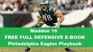 getlinkyoutube.com-FREE FULL DEFENSIVE E-BOOK - Eagles Playbook - Madden 16