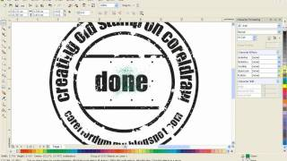 getlinkyoutube.com-Corel Draw Tutorial  creating old stamp