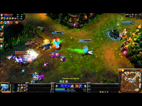 Fizz with a Sub - League of Legends Gameplay/Commentary