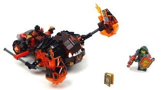 getlinkyoutube.com-Lego NEXO KNIGHTS 70313 Moltor's Lava Smasher Lego Speed Build