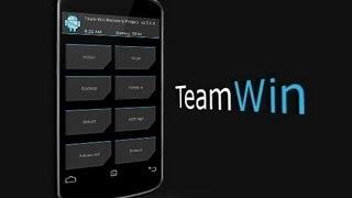 getlinkyoutube.com-Galaxy S4 GT I9500 Instalar y como usar TEAM WIN RECOVERY PROJECT (TWRP)