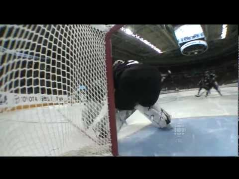 Alex Burrows Goal - Canucks Vs Sharks - R3G3 2011 Playoffs - 05.20.11 - HD