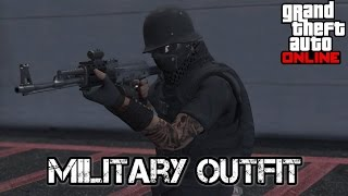 getlinkyoutube.com-Gta 5 online Military outfit after patch 1.36
