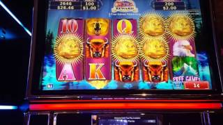 Northern Treasure Rapid Revolver slot machine big win bonus