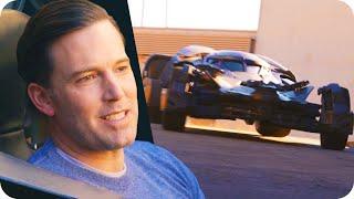 getlinkyoutube.com-Ben Affleck Surprises Fans in the Batmobile // Omaze