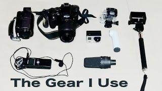 getlinkyoutube.com-The Gear I Use (fall 2015) | Traveling Robert