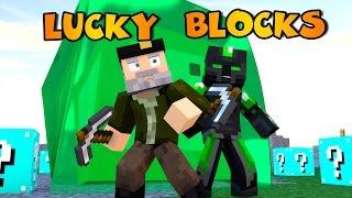 getlinkyoutube.com-Minecraft: NO PARO DE PILLAR!! c/ sTaXx   BLUE 2 Lucky Blocks Epic Race