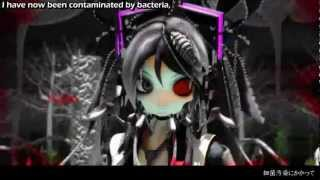 【初音ミク_Hatsune Miku 】- 細菌汚染 Bacterial Contamination [English Sub + MP3 Link] width=