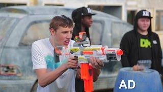 getlinkyoutube.com-ULTIMATE SIDEMEN NERF CHALLENGE
