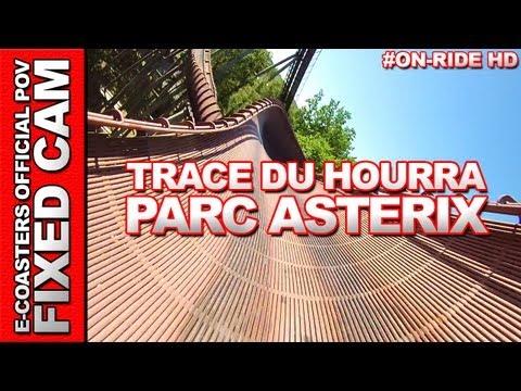 La Trace du Hourra - OnRide - Parc Asterix (ECAM HD)