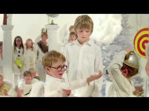 Reason for the season? Children tackle birth of Jesus in Christmas video