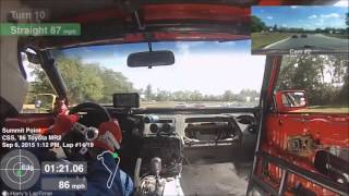getlinkyoutube.com-SCCA MARRS 9 2015 Qualifying Race ITB/ITS Summit Point