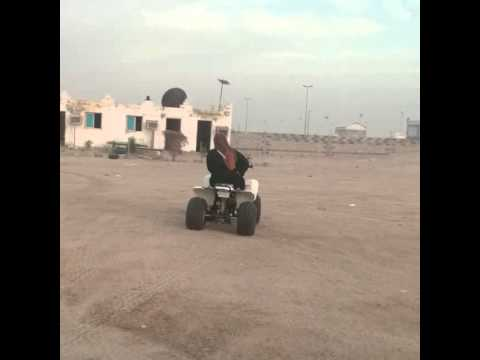 #ATV riding at half moon bay, khobar. Saudi arabia