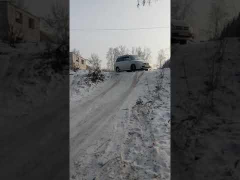 Обзор Daihatsu Pyzar зимой полный привод