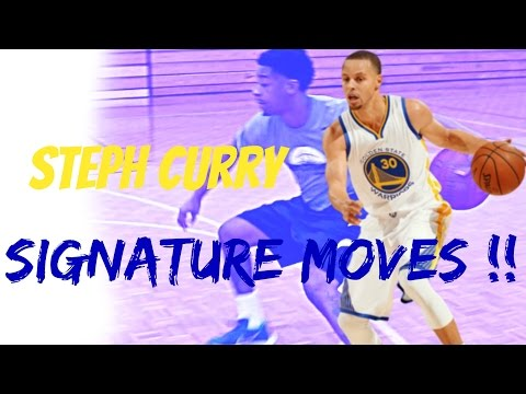 Stephen Curry Signature Moves - Player Breakdown