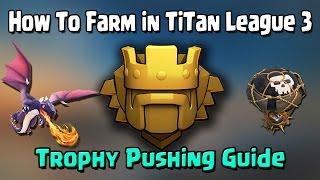 getlinkyoutube.com-Clash of clans - 2016 Titan League Farming - Trophy Pushing - Th9