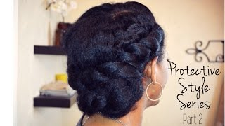 getlinkyoutube.com-| 73 | Double Twists & Tuck - Protective Style Series Part 2 of 4