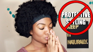 """getlinkyoutube.com-Why I HATE """"Protective Styling!"""" 