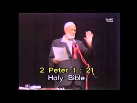 Funny commands in the bible by Ahmed Deedat.