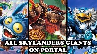 getlinkyoutube.com-Skylanders Imaginators - All Skylanders Giants on Portal