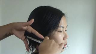 getlinkyoutube.com-How to cut a Bob Haircut