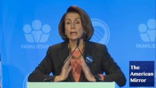 Nancy Pelosi repeats words, tells audience to clap, Kasich 'gov of Illinois'