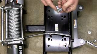getlinkyoutube.com-Harbor Freight 12000 LB Winch Review, Teardown, Installation, Safety, Etc. Model 61889