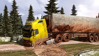 getlinkyoutube.com-Mud 2.0 - Shortcuts - Dirt - Mod - ETS 2 - Eurotruck Simulator 2 - Грязные Европейские дороги