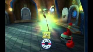 getlinkyoutube.com-10-Minute Gameplay - SpongeBob SquarePants: Battle for Bikini Bottom (GameCube)