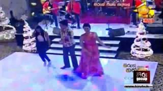 getlinkyoutube.com-Ranjan Ramanayaka Nithamba Dance with Ruwangi - Hiru Gossip (www.hirugossip.lk)