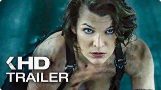 getlinkyoutube.com-Resident Evil 6: The Final Chapter ALL Trailer (2017)