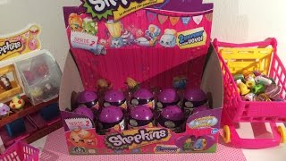getlinkyoutube.com-Unboxing  Shopkins Surprise Eggs en Review Shopkins bakkerij